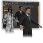 MakeHuman software per realizzare prototipi di umanoidi in 3D
