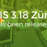 """QGIS 3.18 """"Zurigo"""""""